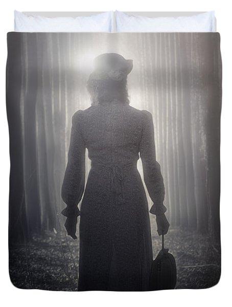 Towards The Light Duvet Cover by Joana Kruse