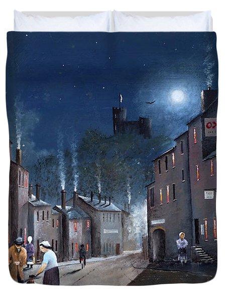 Tower Street Dudley C1930s Duvet Cover