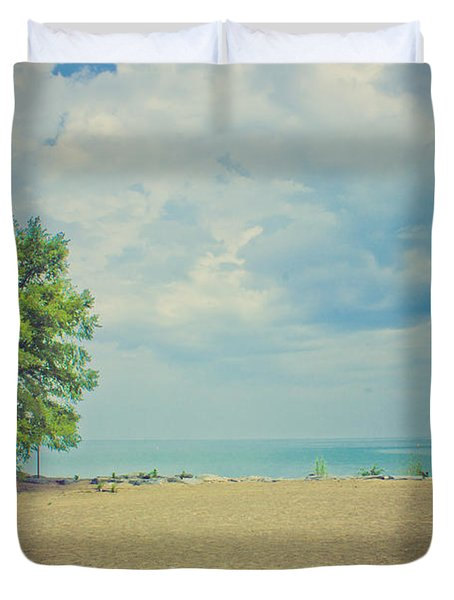Tranquility Duvet Cover by Sara Frank