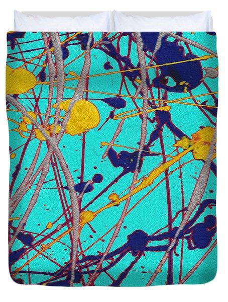 Traveling Fast Inside His Dreams Duvet Cover by Sir Josef - Social Critic -  Maha Art