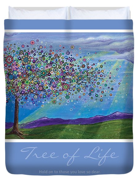 Tree Of Life Duvet Cover