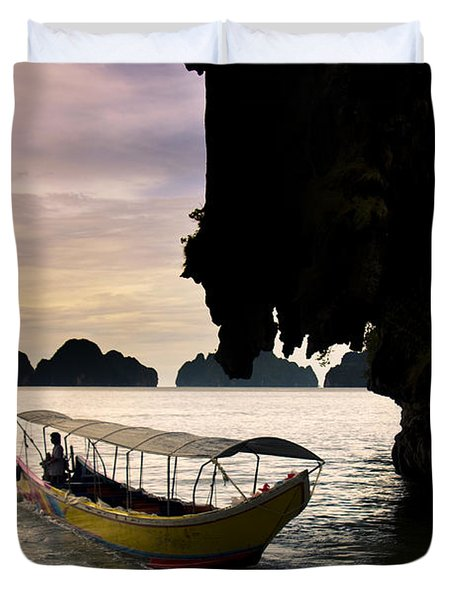 Tropical Holiday In Asia Duvet Cover
