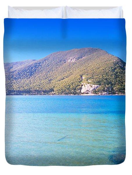 Tropical Water Duvet Cover