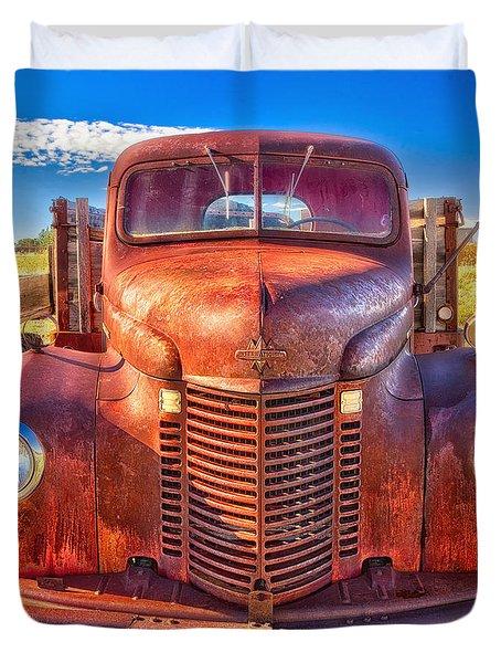 International Rust Duvet Cover