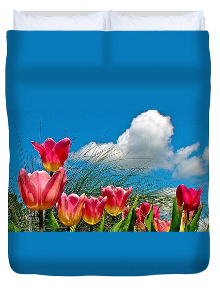 Flower 8 Duvet Cover