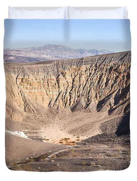 Ubehebe Crater Duvet Cover