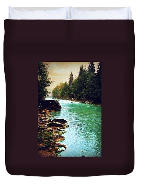 Ukrainian River Duvet Cover