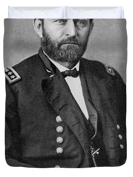 Ulysses S Grant Duvet Cover by American School