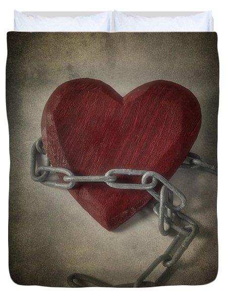 Unchain My Heart Duvet Cover by Joana Kruse