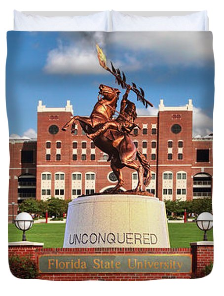 Unconquered Duvet Cover by John Douglas