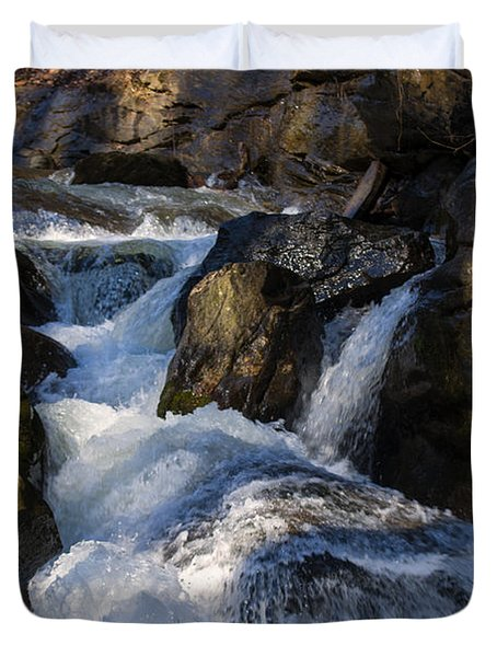 unnamed NC waterfall Duvet Cover