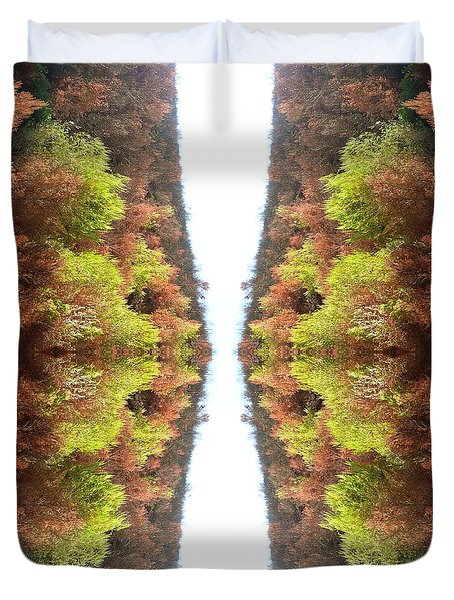 Unnatural 77 Duvet Cover by Giovanni Cafagna