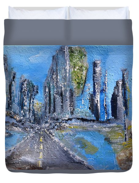Urban Duvet Cover by Evelina Popilian