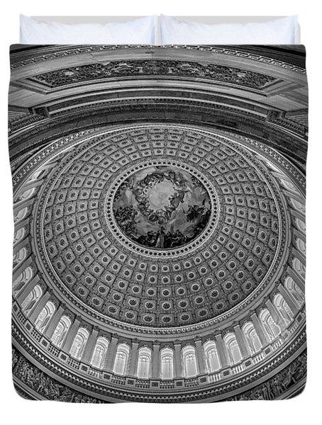 Us Capitol Rotunda Duvet Cover by Susan Candelario