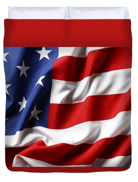 Usa Flag No.52 Duvet Cover