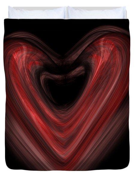 Valentine Duvet Cover by Christopher Gaston