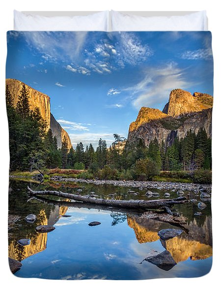 Valley View II Duvet Cover