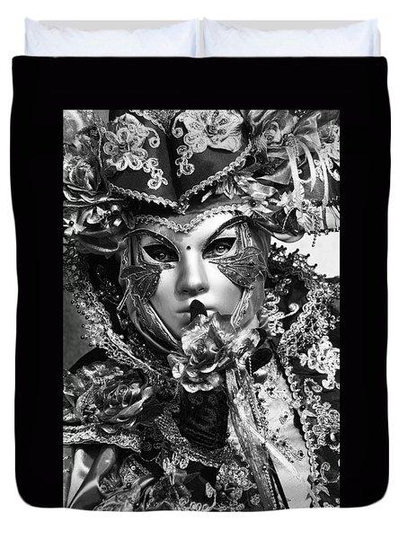 Venetian Mask Duvet Cover