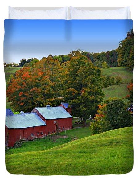Vermont's Jenne Farm Duvet Cover