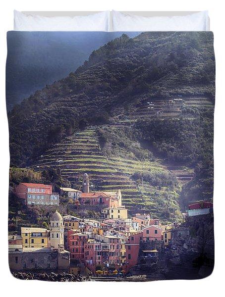 Vernazza Duvet Cover by Joana Kruse