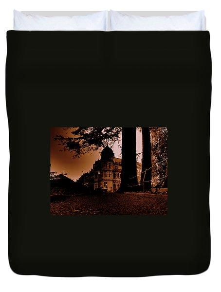 Viceregal Lodge Shimla Duvet Cover by Salman Ravish