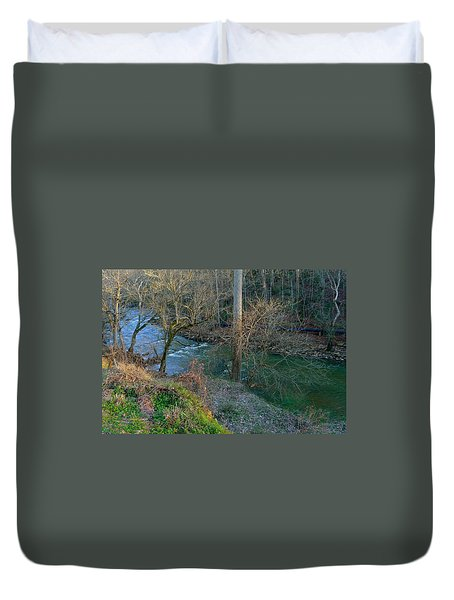 Vickery Creek Duvet Cover