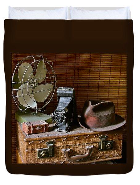 Vintage Vignette Duvet Cover