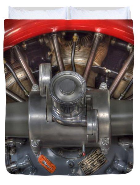 Vultee Bt-13 Valiant Propeller Duvet Cover