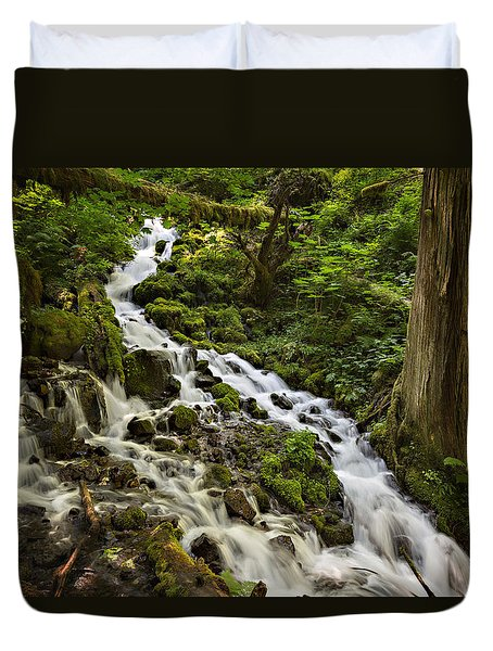 Wahkeena Creek Duvet Cover