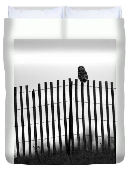 Waiting Owl Duvet Cover