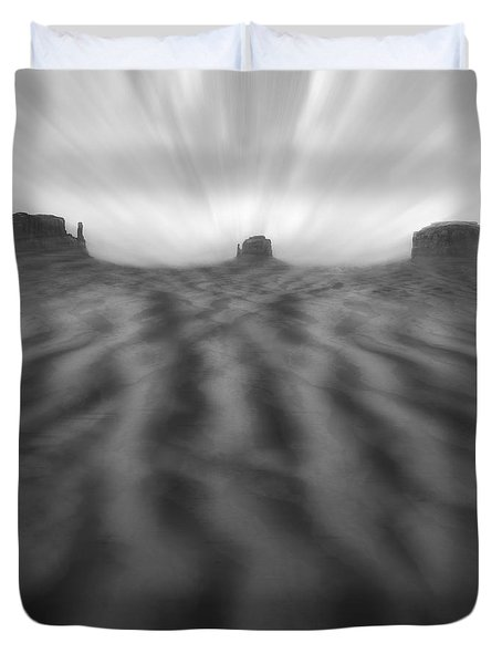 Weathered Duvet Cover by Mike McGlothlen