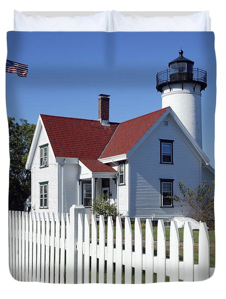 West Chop Lighthouse Duvet Cover by John Greim
