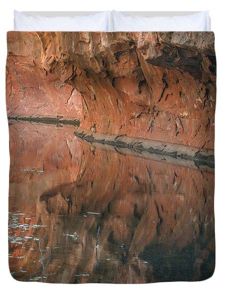 West Fork Reflection Duvet Cover
