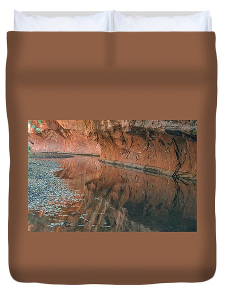 West Fork Reflection Duvet Cover