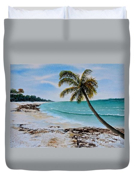 West Of Zanzibar Duvet Cover
