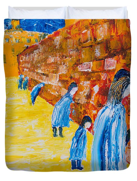 Western Wall Duvet Cover