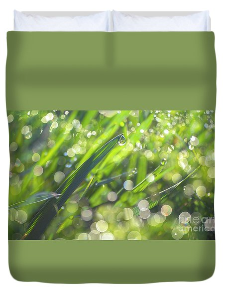 Duvet Cover featuring the photograph Where The Fairies Are by Rima Biswas