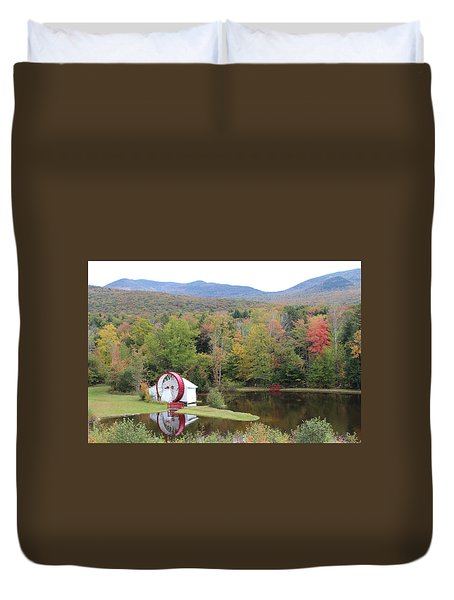 White Mountains Indian Head Nh Duvet Cover