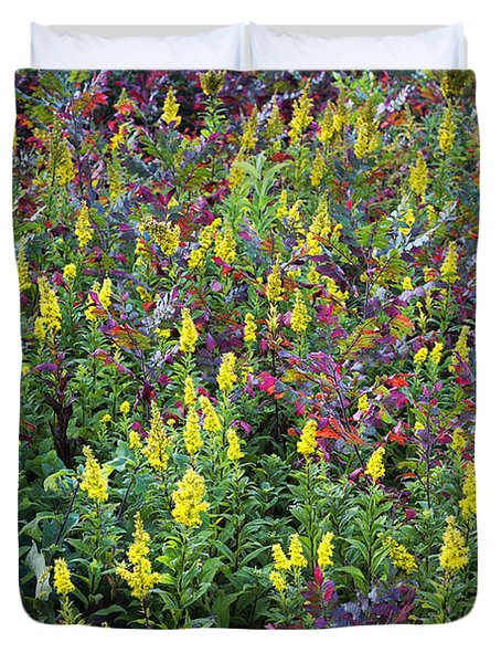 Wildflower Meadow Duvet Cover by John Greim