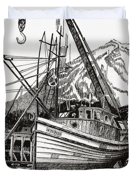 Will Fish Again Another Day Duvet Cover by Jack Pumphrey
