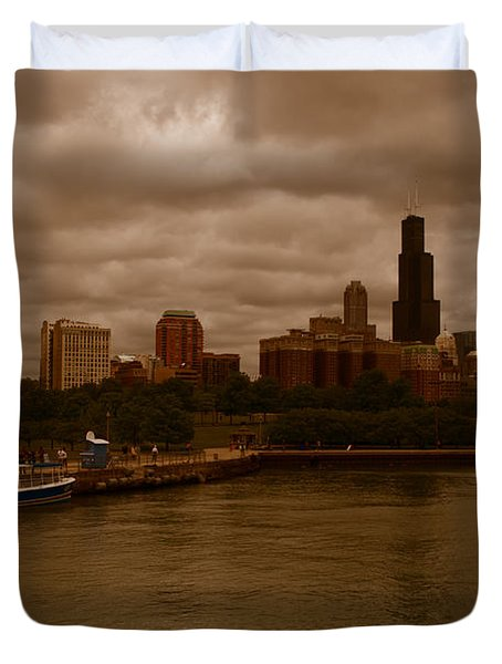 Windy City Duvet Cover