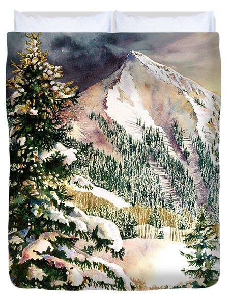 Winter Morning Prism Duvet Cover