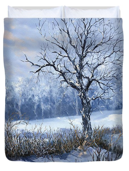 Winter Slumber Duvet Cover
