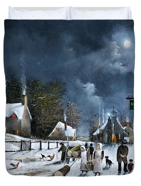 Winter Solstice Duvet Cover