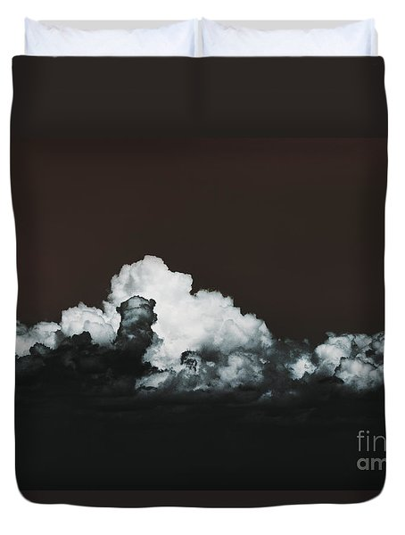 Duvet Cover featuring the photograph Words Mean More At Night by Dana DiPasquale
