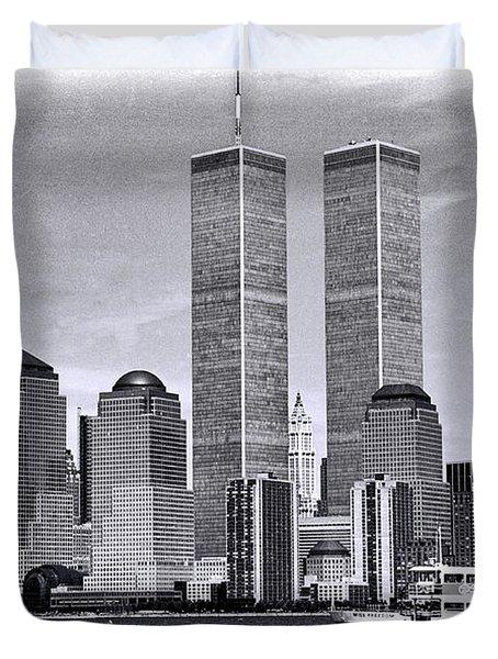 World Trade Center 3 Duvet Cover