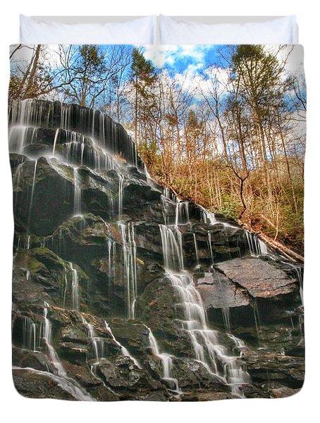 Yellow Branch Falls Duvet Cover