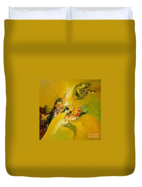 Yellow  Harmony Duvet Cover