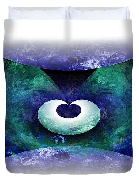 Zen Duvet Cover by Christopher Gaston