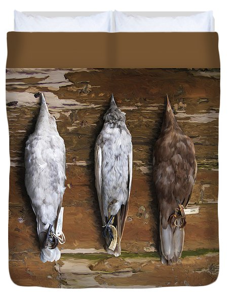 10. 3 Crows Duvet Cover
